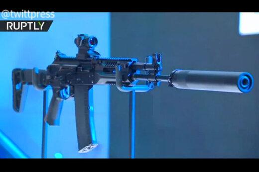 ببینید | رونمایی کلاشنیکف از جدیدترین اسلحه هوشمند