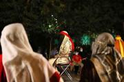 تعزیه «حضرت مسلم (ع)» مقابل تالار وحدت اجرا شد