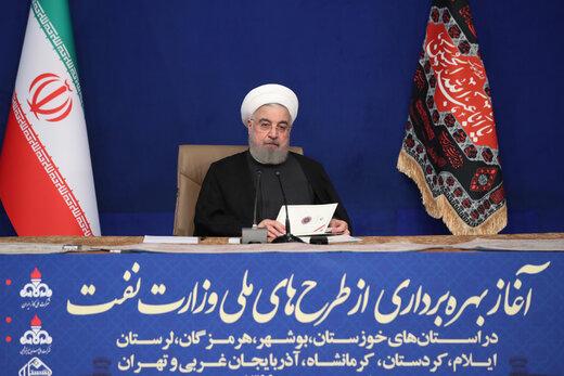 خبر مهم بورسی از زبان روحانی /گازرسانی ایران در دنیا بی نظیر است