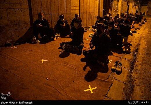 عزاداری شب چهارم محرم در هیئت عشاق الحسین (ع)