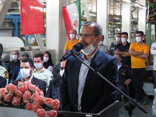 افتتاح طرح توسعه شرکت تهران دلتا در شهرستان گرمسار