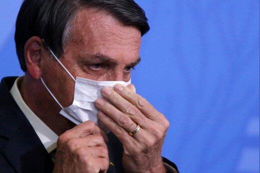 ترامپ برزیل به خبرنگار: دلم میخواهد دهانت را با مشت خرد کنم