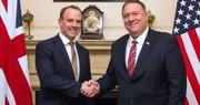 دیدار وزرای خارجه آمریکا و انگلیس در اراضی اشغالی درباره ایران