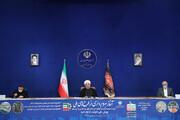 روحانی: توطئه دشمنان، تعطیلی اقتصاد ایران به بهانه کرونا بود