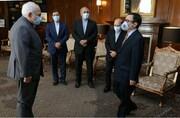 خداحافظی سفیر شیلی با ظریف/عکس