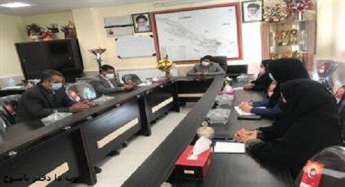 برگزاری کمیته کاهش مرگ کودکان در مرکز بهداشت بویراحمد