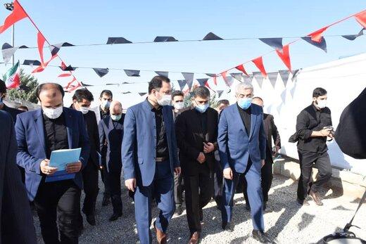 افتتاح پروژه های آبفای البرز با حضور وزیر نیرو و استاندار البرز