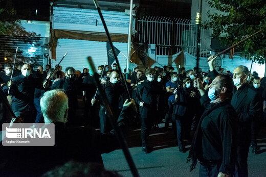 عزاداری شب پنجم محرم در تهران