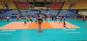 آغاز تورنمنت والیبال ارومیه با شکست تیمهای میزبان
