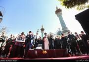 ببینید | مقامات سیاسی در تشییع پیکر مرحوم حجت الاسلام روح الله حسینیان