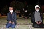 مراسم ششمین شب عزاداری سرور و سالار شهیدان امام حسین (ع) در دانشگاه علوم پزشکی یاسوج برگزار شد