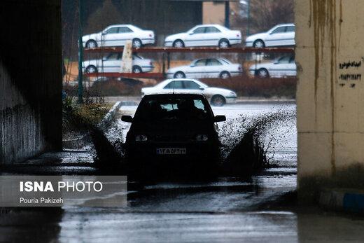 هشدار هواشناسی نسبت به وقوع رگبار شدید باران در جنوب کشور