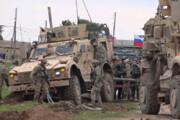 ببینید | برخورد خودروهای نظامی روسیه و آمریکا در سوریه