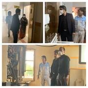 معاون فرهنگی، اجتماعی و گردشگری منطقه آزاد قشم از بیمارستان جیجیان قشم بازدید کرد