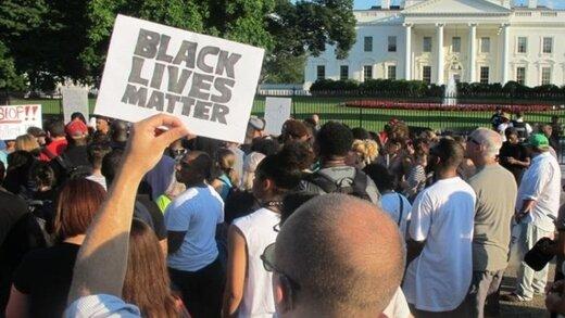 اعتراضات ضد نژادپرستی به کاخسفید رسید