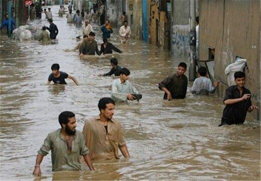 رکورد بارش قرن در پاکستان شکست