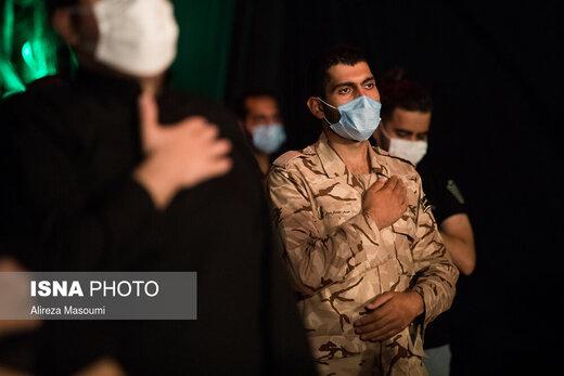 آیین عزاداری حسینی در میدان امام خمینی