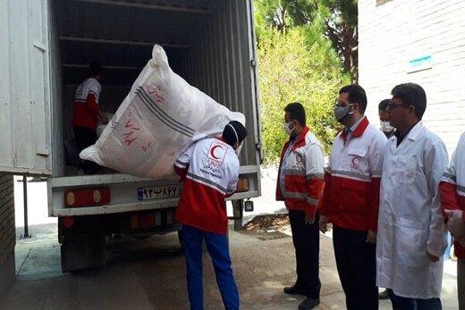 بیش از هزار نفر در ۲۸ شهر و روستای سیلزده از هلال احمر کمک گرفتند