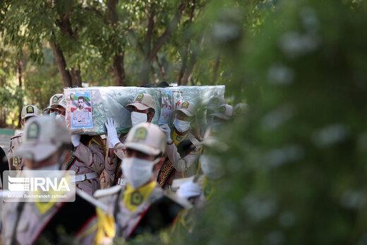 شهادت مرزبان هرمزگانی در درگیری با قاچاقچیان سوخت/ عکس