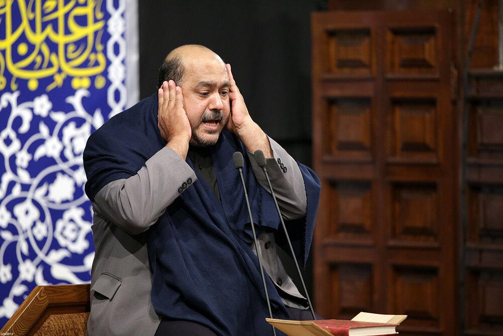 5449725 - متفاوتترین مراسم عزاداری در حسینیه امام خمینی(ره)  با حضور رهبر انقلاب + عکس