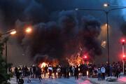 ببینید | ناآرامی ها در سوئد به دنبال اهانت وقیحانه یک راست گرای افراطی به قرآن کریم