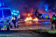 تصاویر | شورش در سوئد در اعتراض به آتش زدن قرآن