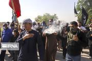 تصاویر | عزاداری روز تاسوعای حسینی در روستای ابوالفضل اهواز