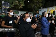 تصاویر | عزاداری شب تاسوعا در منطقه گلشهر