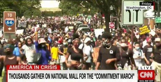 معترضان خسته آمریکایی همچنان در خیابانها/درخواست اوباما از مردم