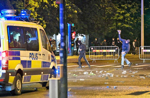 شورش در سوئد در اعتراض به آتش زدن قرآن