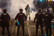 ببینید | تیراندازی مرگبار در «پورتلند» پس از تظاهرات حامیان ترامپ