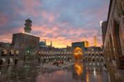 ببینید | تصویری جذاب از باران عصر روز عاشورا