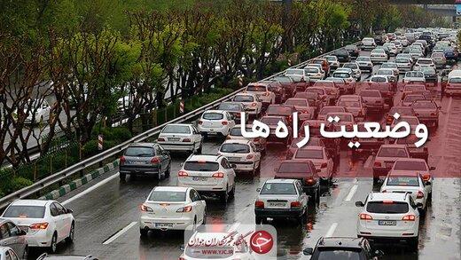 آخرین وضعیت جوی و ترافیکی جادههای کشور/ تردد در جادههای شمالی روان است