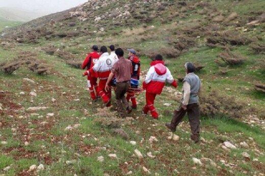 سقوط یک کوهنورد از کوهستان الموت قزوین