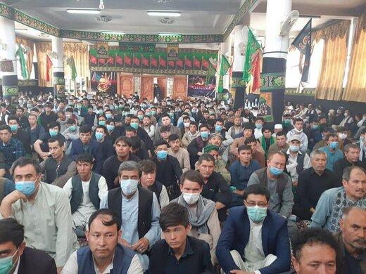 حضور رئیس جمهور افغانستان در مراسم عاشورای حسینی