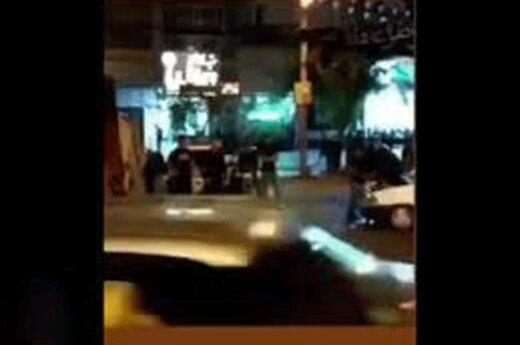 ببینید | تصاویر زیرگرفتن عزاداران حسینی توسط راننده مست در شهرک غرب