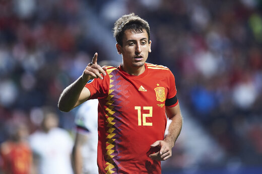 پدیده فوتبال اسپانیا کرونا گرفت