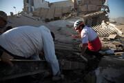 هلالاحمر گروههای ارزیاب به منطقه زلزلهزده علامرودشت فارس فرستاد