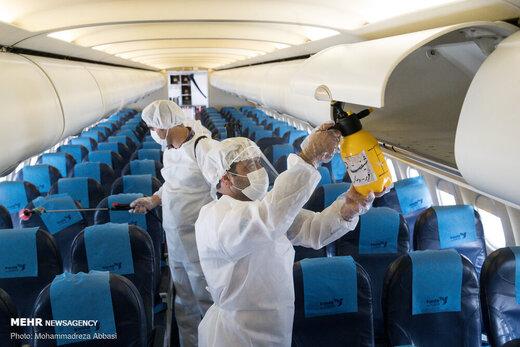 فروش بلیت همه صندلیهای هواپیما به جز دو ردیف آخر مجاز شد