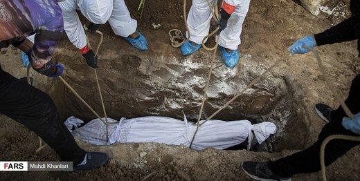 آمار فوتیهای کرونا در پایتخت نسبت به یک ماه پیش، نصف شد
