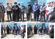 پروژه ارتقاء کیفیت آب شهر فرمهین کلید خورد