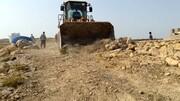 ۱۶هزار و ۵۰۰ مترمربع از اراضی ملی در شهر قروه رفع تصرف شد
