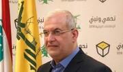 واکنش عضو ارشد حزب الله به خبر دیدارش با مکرون