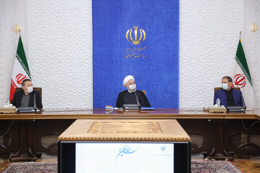 Rouhani says economic development not to be affected by sanctions