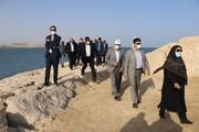 دیدار دبیر شورایعالی مناطق آزاد از مجموعه بندری و پروژه های شاخص هاب بانکرینگ کشوردر جزیره  قشم / تصاویر