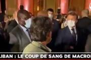 ببینید | عصبانیت ماکرون از یک خبرنگار به دلیل روایت نادرست از دیدارش با نماینده حزبالله