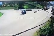 ببینید | تصادف وحشتناک در تایلند