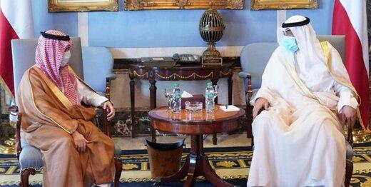 پیام مکتوب شاه سعودی به ولیعهد کویت