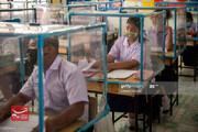 عکس| شروع فعالیت مدارس در تایلند با رعایت پروتکلهای بهداشتی