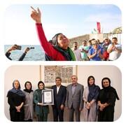 ثبت رکورد گینس برای قهرمان شنای زنان هنگام ساخت مستند «شناگر»